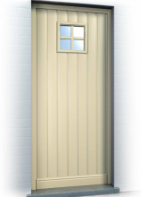 Anaf Products nv - Voordeur cottage stijl - Ref. Country Shannon Square Rustique