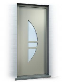 Anaf Products nv - Voordeur design stijl - Ref. Eclips small 140